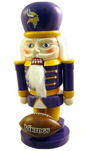NFL Minnesota Vikings Elite 7″ Nutcracker