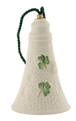 Belleek 4121 Haulbowline Lighthouse Ornament, 2-Inch, White