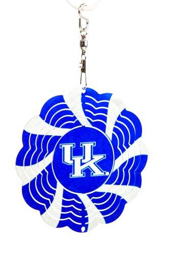 University of Kentucky Geo Spinner Christmas Ornament