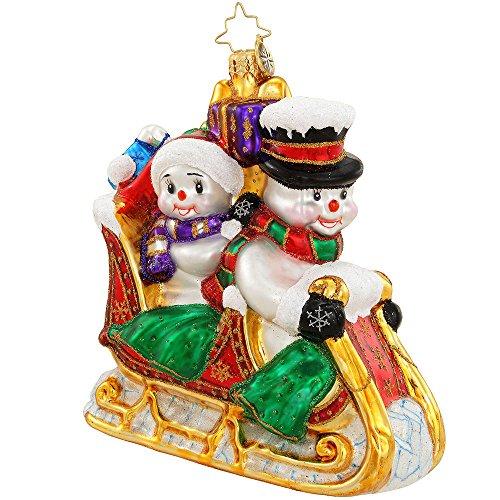 Christopher Radko Snow Motion Christmas Ornament