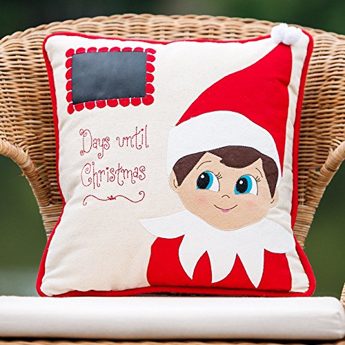Glory Haus Elf This House Believe Burlee Wall Hanging, 20 x 16-Inch