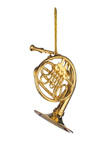 Music Treasures Co. French Horn Christmas Ornament