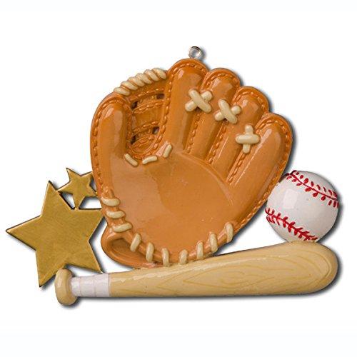 Baseball Glove Personalized Ornament