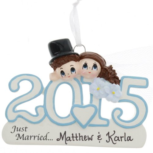 2015 Wedding Couple – Just Married – FREE Personalization
