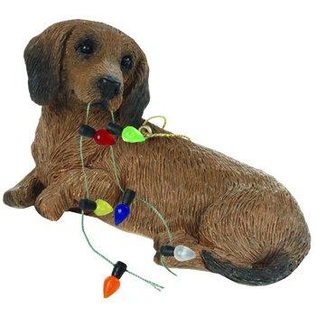 Ornament Dachshund, Red