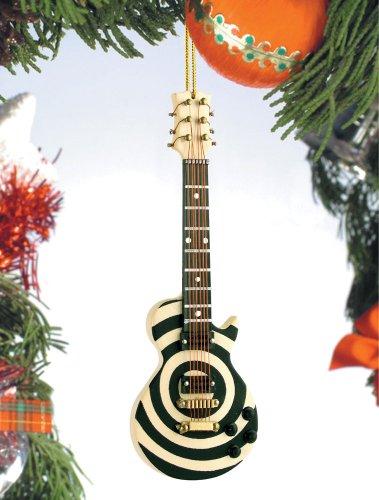 Music Treasures Co. Zakk Bullseye Electric Guitar Christmas Ornament