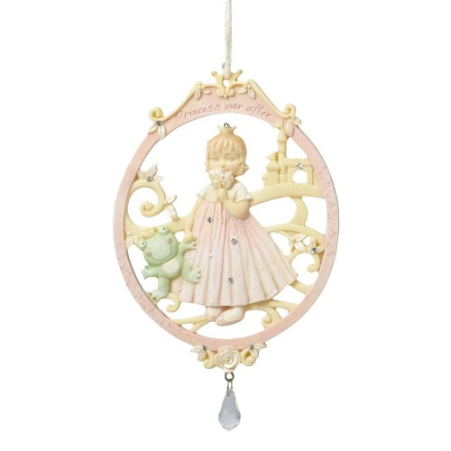 Enesco Foundations by Artist Karen Hahn Little Princess Ornament, 4.75-Inch