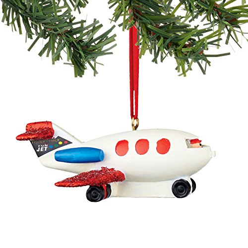 Department 56 Fisher Price Little People Plane Ornament