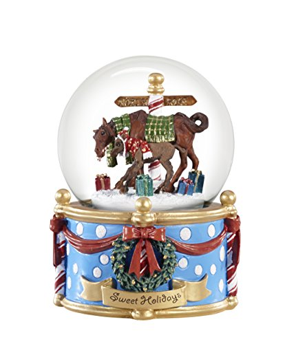 Breyer Sweet Holidays Musical Snow Globe