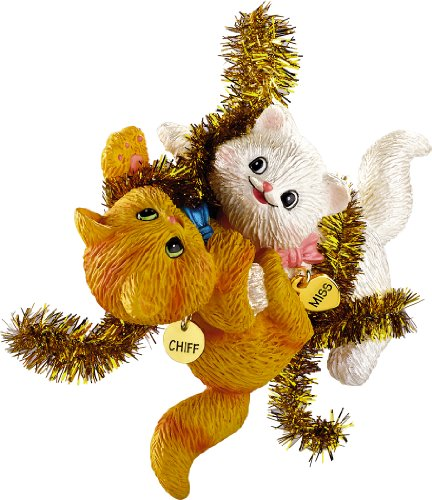 Carlton Heirloom Series Ornament 2012 Merry Mischief Makers #17 – Miss and Chiff – #CXOR036B