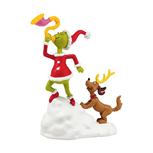 Department 56 Grinch Village Grinch and Max a Toot Ornament