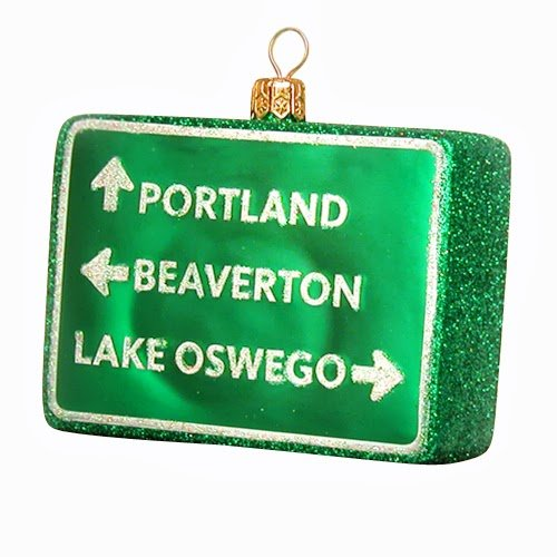 Ornaments to Remember: PORTLAND Christmas Ornament