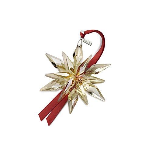 Mikasa 2015 Collectable Snowflake Ornament, Amber