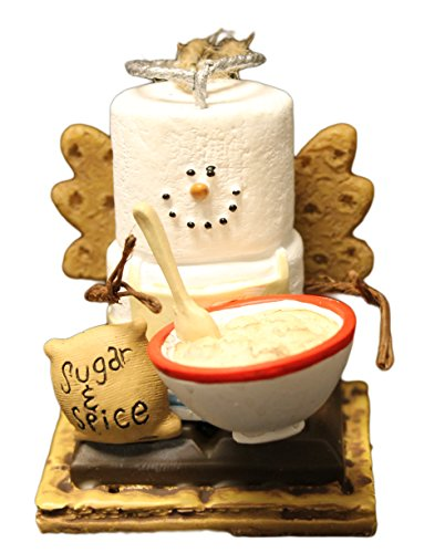 "Christmas Decoration S'Mores Baker Ornament ""Sugar and Spice"" Christmas Ornament"