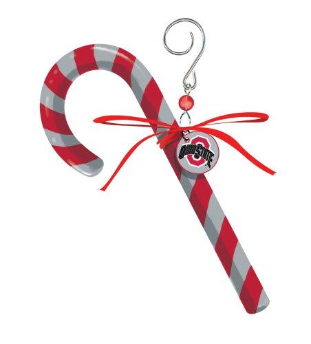 Ohio State University Candy Cane Christmas Ornament