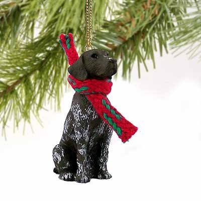 German Shorthair Pointer Miniature Dog Ornament