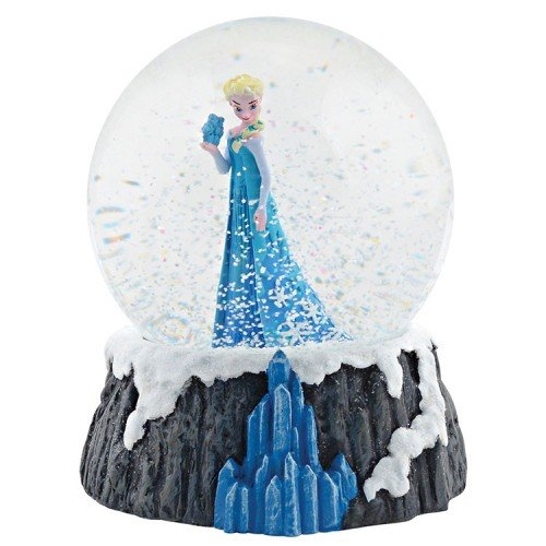 Department 56 Disney Frozen Elsa Water Globe Figurine