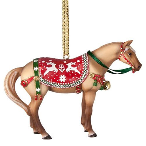 Enesco Trail of Painted Ponies Ho Mr. Winter Ho, 2.3-Inch