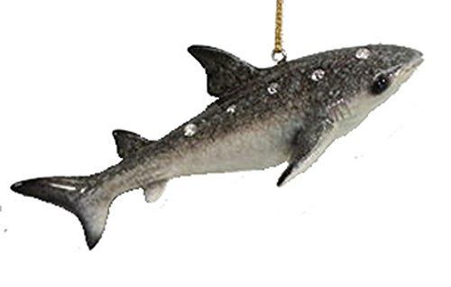 December Diamonds Jeweled Whale Shark Ocean Life Christmas Ornament