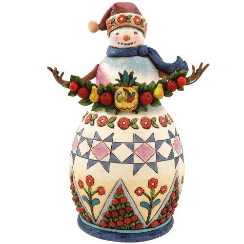 Jim Shore Williamsburg Snowman – Welcome Winter
