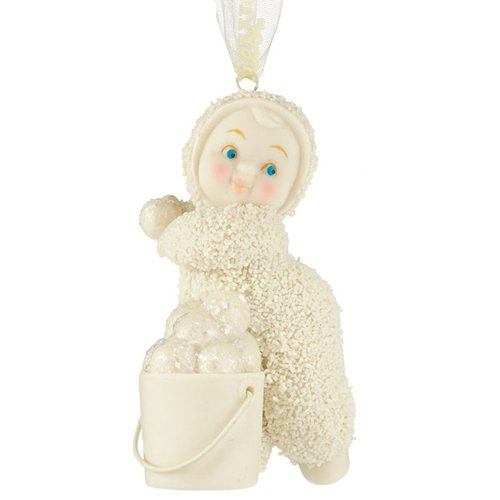 Snowbabies Celebrations Into The Woods Snowball Fight Ornament