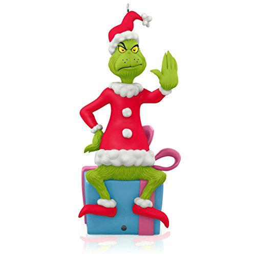 Dr. Seuss – How the Grinch Stole Christmas! Grinch Peekbuster Ornament 2015 Hallmark