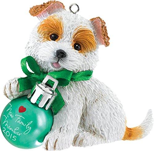 2015 Puppy Love Carlton Ornament