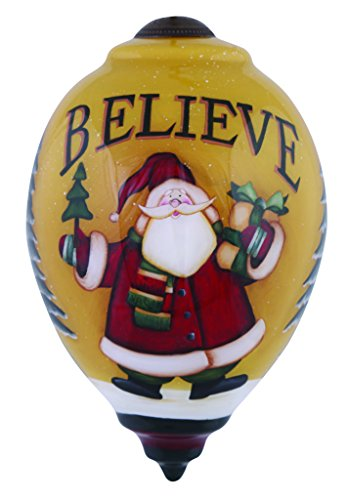 Ne'Qwa Believe Santa Ornament