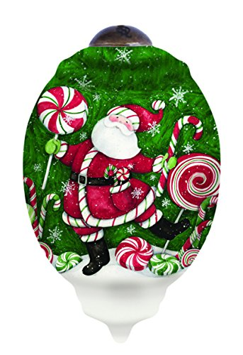 Ne'Qwa Santa's Peppermint Fun Ornament