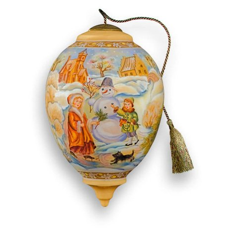 Ne'Qwa Ne'Qwa – Making A Friends G. DeBrekht – Hand-Painted Ornament Decoration Gift 870-LE-DB-NQ