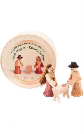 Dregeno Chip Box Wooden Nativity Ornament