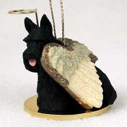 Scottish Terrier Angel Dog Ornament