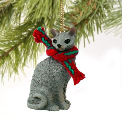 Conversation Concepts Blue Cornish Rex Original Ornament