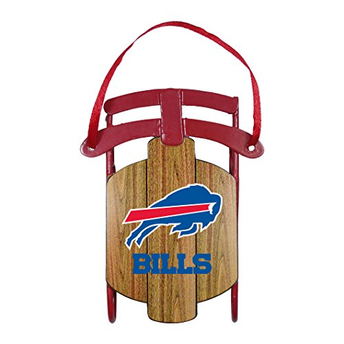 Buffalo Bills – NFL Official 3.5″ Metal Sled Ornament