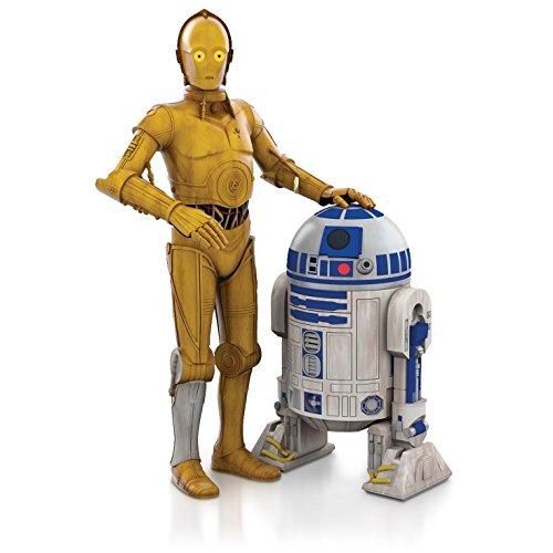 Hallmark QX9219 C-3PO and R2-D2 Star Wars Ornament