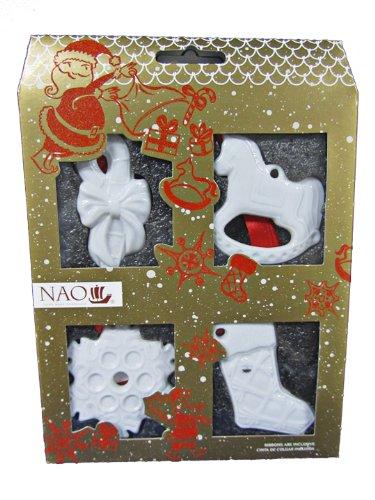 Nao Set of 4 Christmas Ornaments