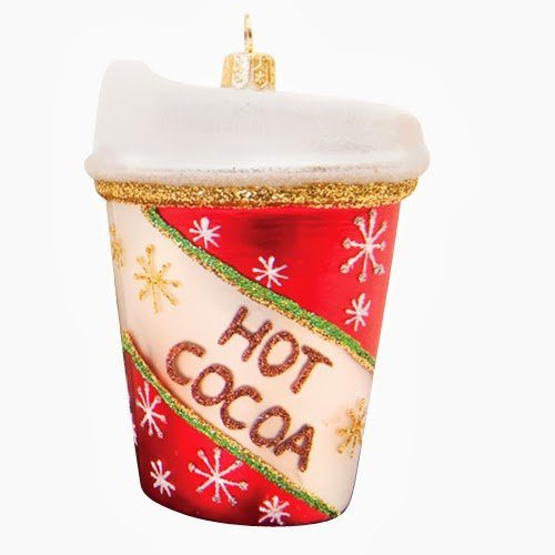 Ornaments to Remember: HOT COCOA Christmas Ornament