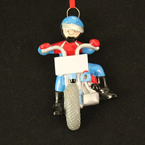 Boy on Motorbike Ornament