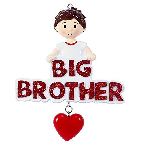 Big Brother Personalized Christmas Tree Ornament