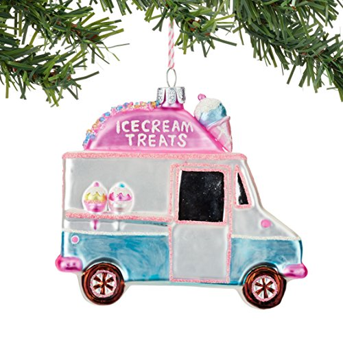 Department 56 Welcome to Snowville Treat Truck Ornament