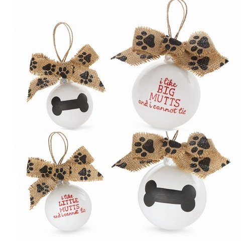 Mud Pie Big Mutts Ornament-Large Size