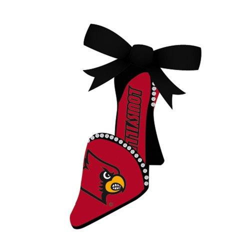 University of Louisville High Heel Shoe Christmas Ornament