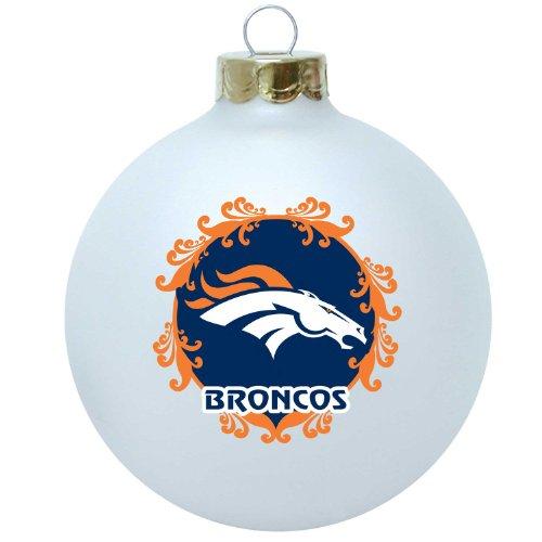 NFL Denver Broncos Large Collectible Ornament