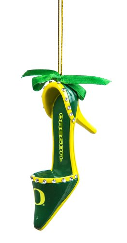 Oregon Ducks Official NCAA 3 inch x 1.5 inch Team Shoe Ornament
