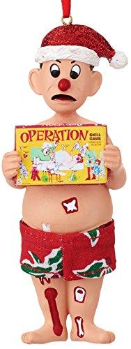 Department 56 Hasbro Operation Patient Ornament
