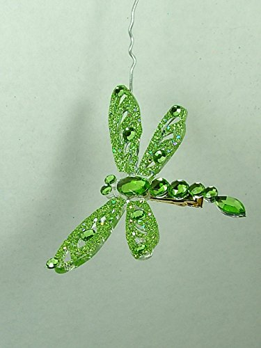 Green Dragonfly Bug Insect Wing Christmas Tree Ornament One Hundred 80 Degrees