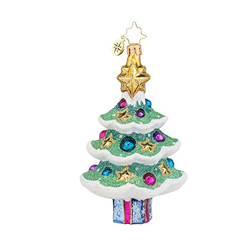 Christopher Radko Sparkly Spruce Christmas Ornament