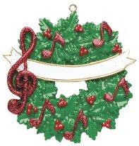 Music Wreath Ornament