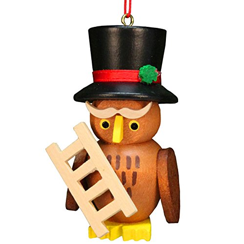 ULBR 10-0609 Christian Ulbricht Ornament – Owl Chimneysweep