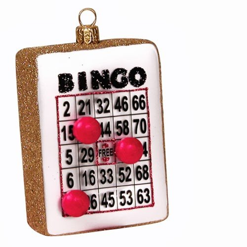 Ornaments to Remember: BINGO CARD Christmas Ornament